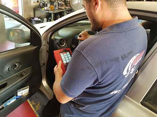 דיאגנוסטיקה לרכב מכשיר