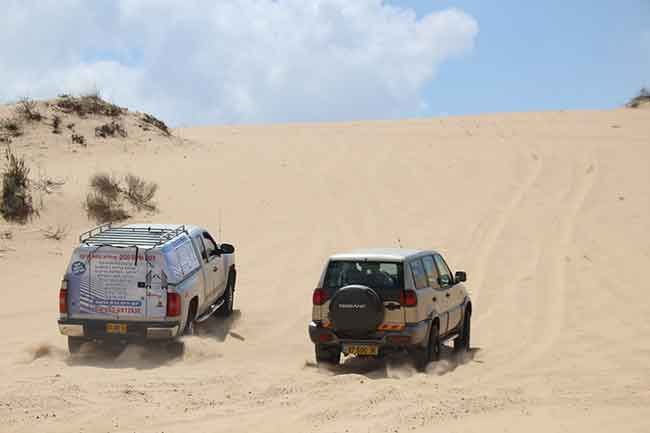 חילוץ שטח רכב תקוע